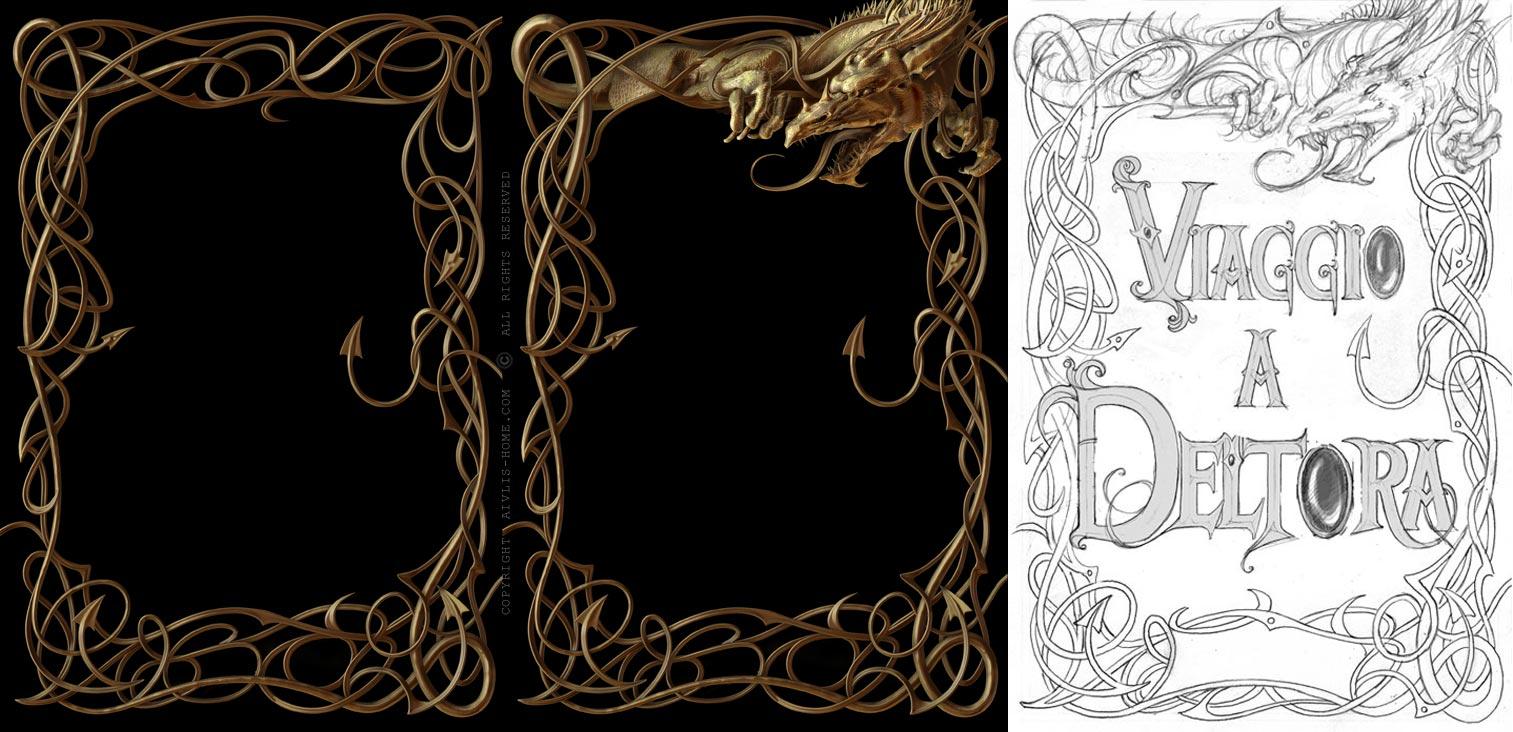 Aivlis Home - Making of Deltora Book Cover
